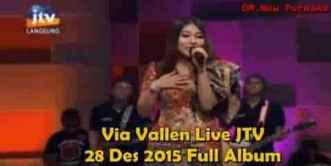 Via Vallen terbaru Full Album Live JTV 28 Desember 2015