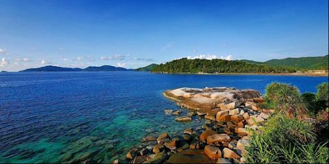 081210999347, 10 Paket Wisata Pulau Anambas Kepri, Pantai Tanjung Momong, Anambas