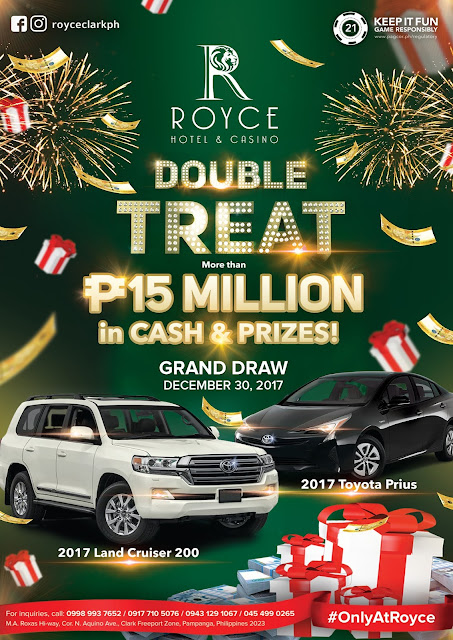 Royce Hotel and Casino Double Treat