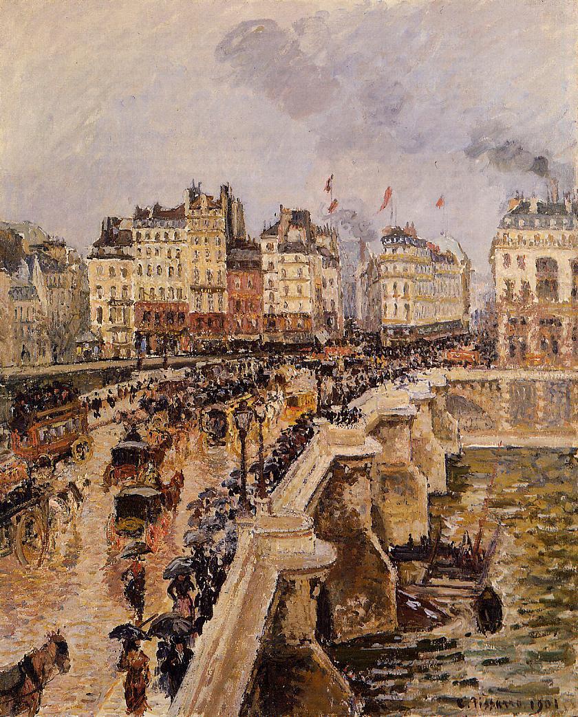 Camille Pissarro  Paris painting  TuttArt  Pittura  Scultura  Poesia  Musica
