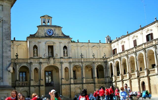 piazza, gente, monumenti, Episcopio