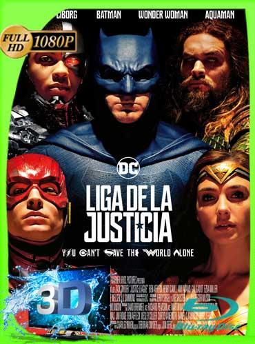 Liga de La Justicia (2017) FULL HD 1080p 3D-SBS Latino [GoogleDrive]