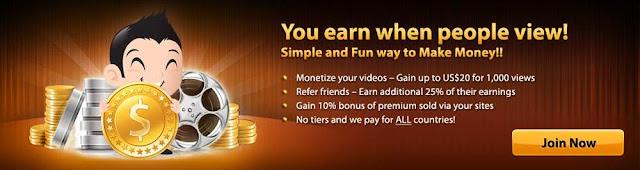 YOUWATCH - Gagner de l'argent gratuitement avec vos vidéos en streaming