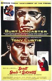 Sweet Smell Of Success movie poster.