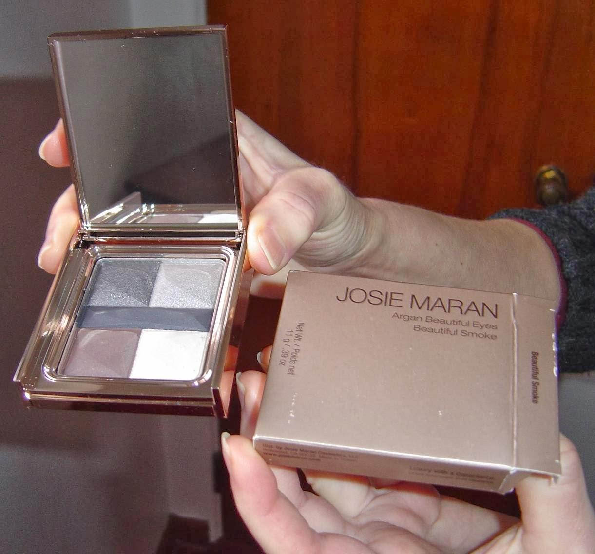 Josie Maran Argan Beautiful Eyes Palette (Beautiful Smoke)