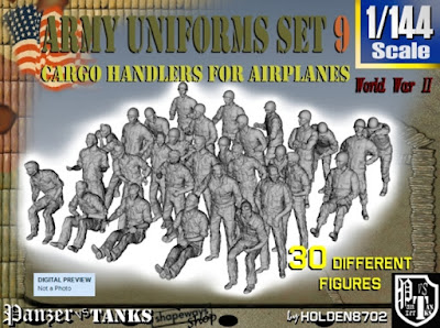 1-144 Army Modern Uniforms Set 9 picture 1