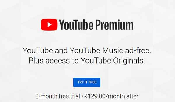 Get Youtube Music & Premium FREE Trial Subscription for 3 Months