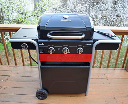 Char-broil gas to coal combination grill
