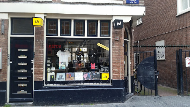 cover picture image disquaire records store amsterdam holland photo