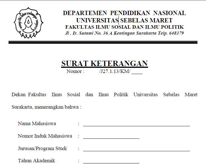 Pendaftaran Cpns Depkes 2013 Cpns 2016 Cpnsindonesiacom Surat Keterangan Masih Kuliah 1166 X 1600 228 Kb Jpeg Contoh Surat