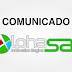 Comunicado Alphasat sobre os canais HD 02/04/2018