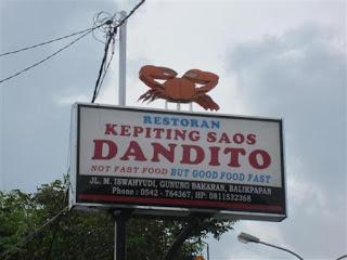 Kepiting Dandito Jadi Primadona Wisatawan yang Berkunjung ke Balikpapan