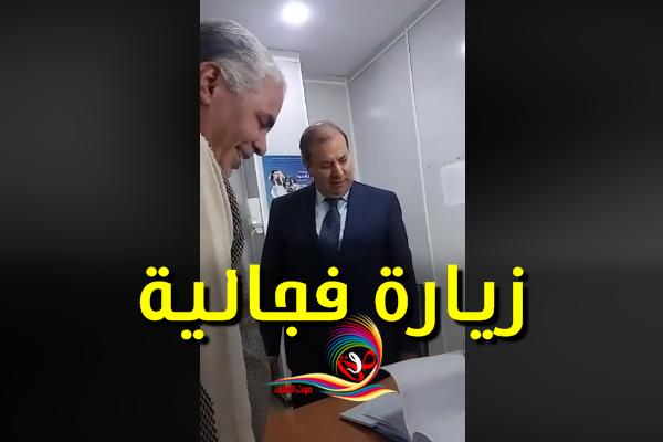 والي الشلف يفاجىء المسؤولين بمستشفى أولاد محمد