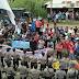 Ratusan Warga Kecamatan Toma Unjukrasa di Kantor Bawaslu Nisel