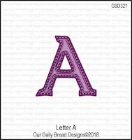 ODBD Custom Large Letters Dies