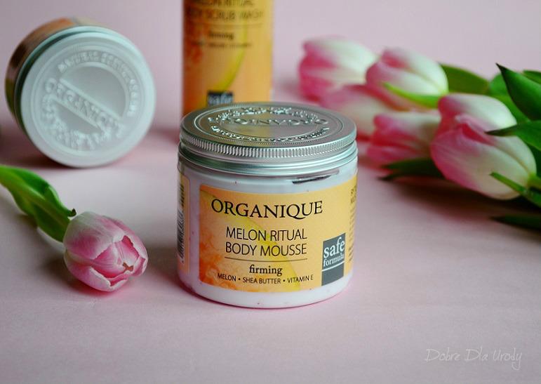 Organique Rytuały Owocowe - Melonowy Mus do ciała