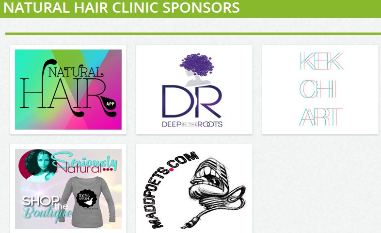 Natural Hair App Hair Clinic - Sign Up Today!