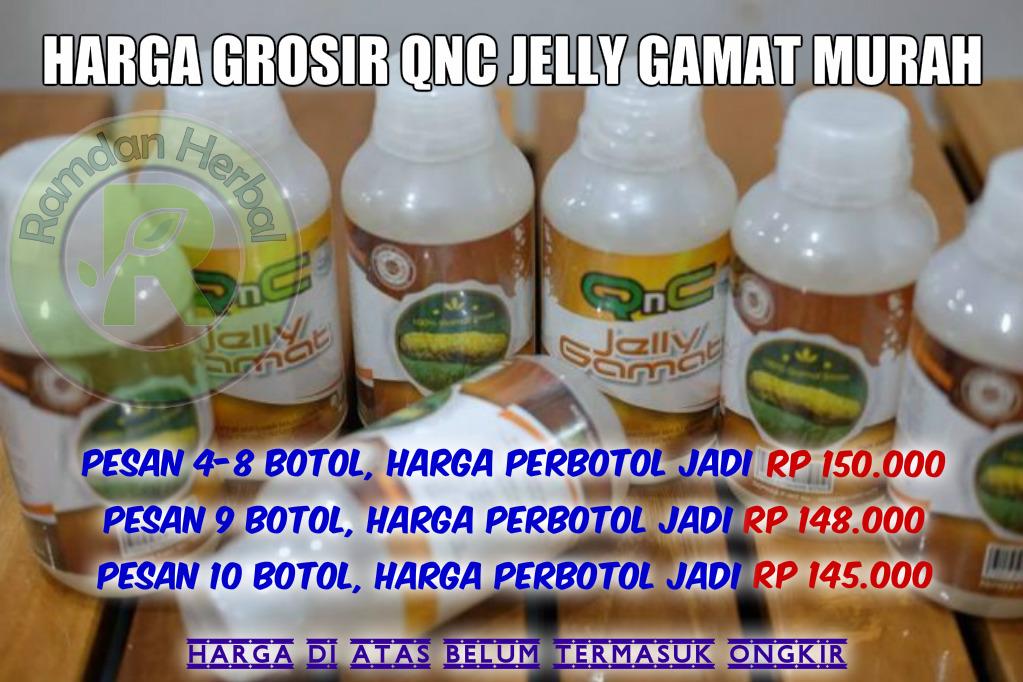 Harga Grosir QnC Jelly Gamat Murah