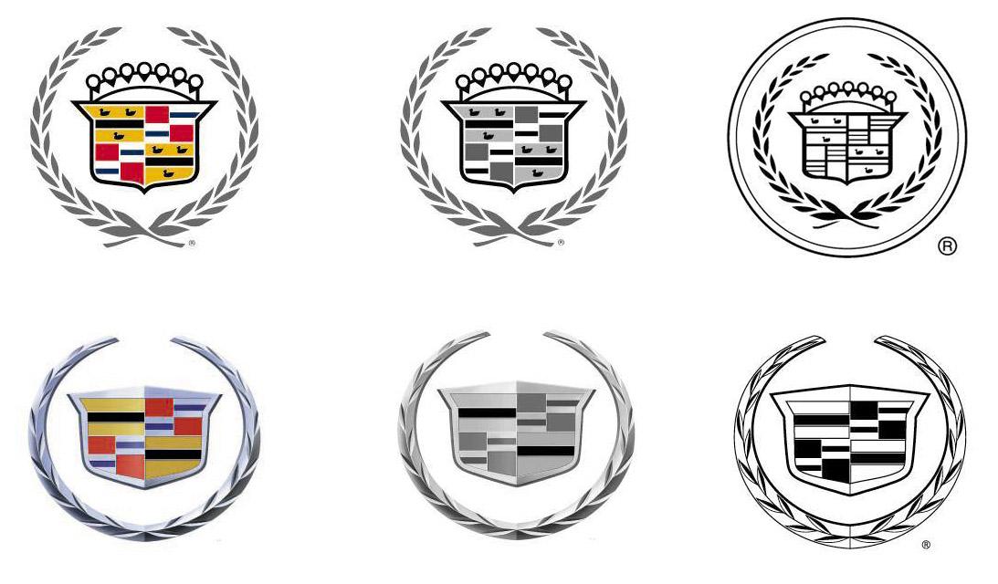 Cadillac Logo Drawing