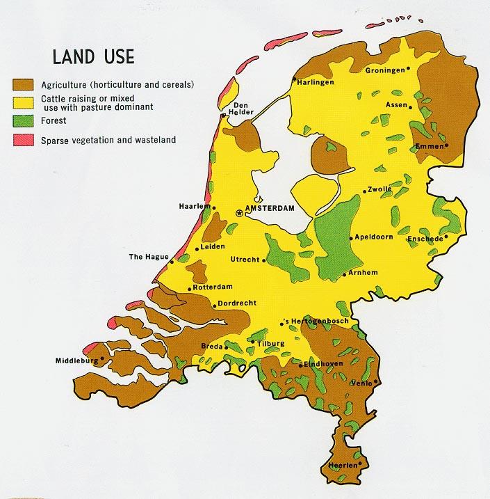 Holanda | Mapas Geográficos da Holanda