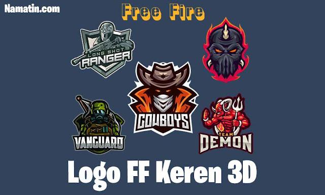 logo ff keren 3d