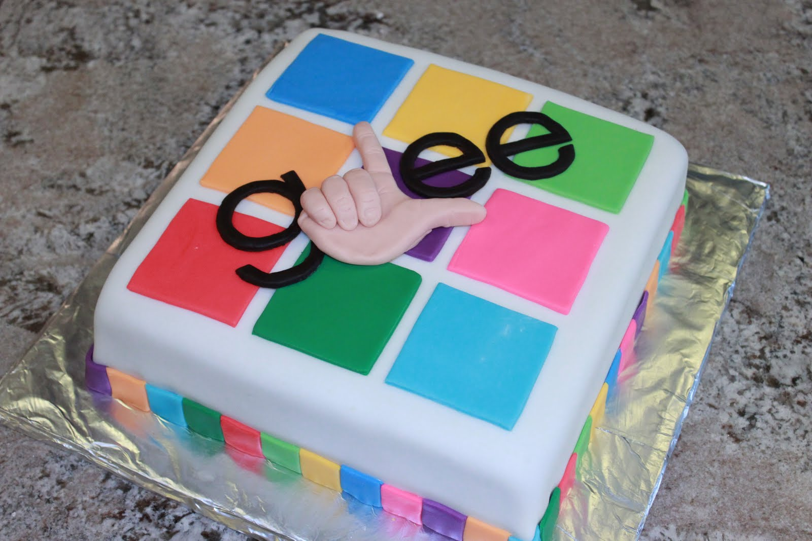 Reese S Pieces And Me Glee Cake