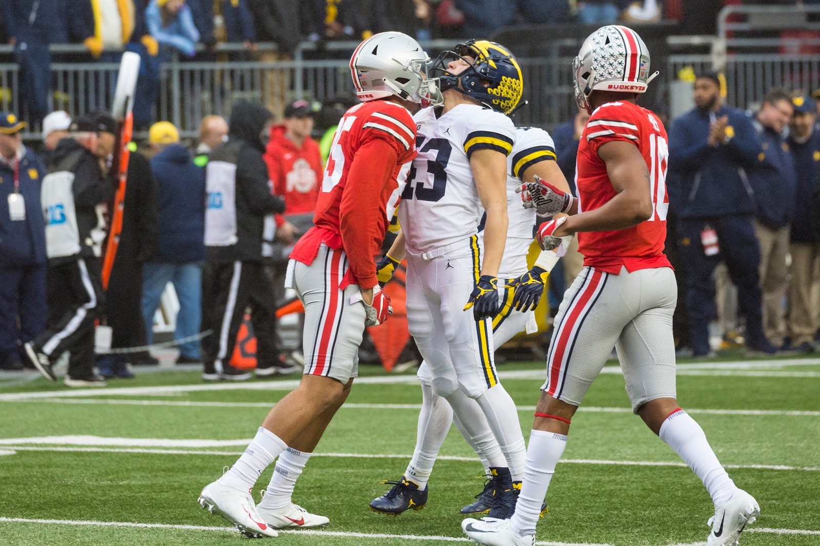 Michigan vs Ohio State 2018 Photos | Maize and Blue Nation