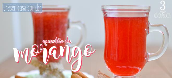 receita quentão morango