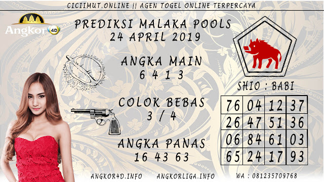 Prediksi Angka Jitu MALAKA POOLS 24 APRIL 2019