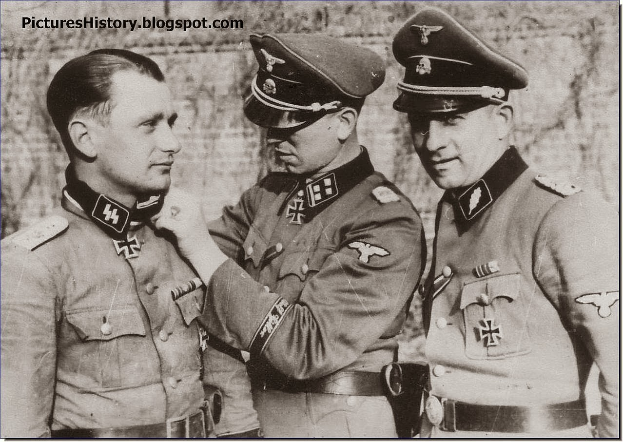 Waffen SS Kurt Meyer Knight's cross Hermann Weiser