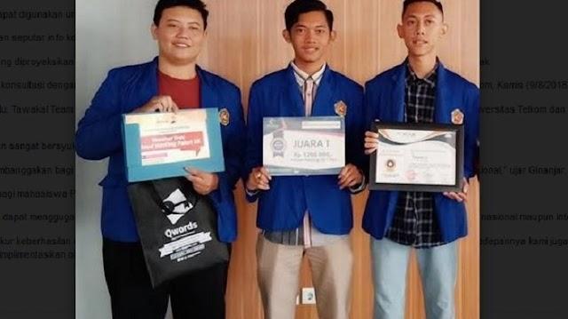 """Raih Juara 1 Kompetisi Aplikasi, Mahasiswa Asal Tegal Ini Buat """"Smart City Tegal"""""""