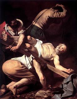 Crucificarea Sfantului Petru - Caravaggio