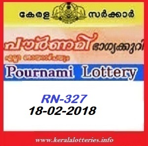 POURNAMI (RN-327) LOTTERY RESULT