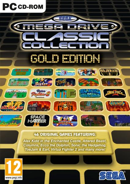 SEGA Mega Drive Classic Collection Gold Edition