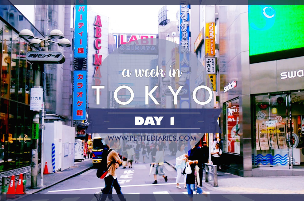 a week in Tokyo travel experience
