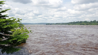 Lot of water in the Congo RIver