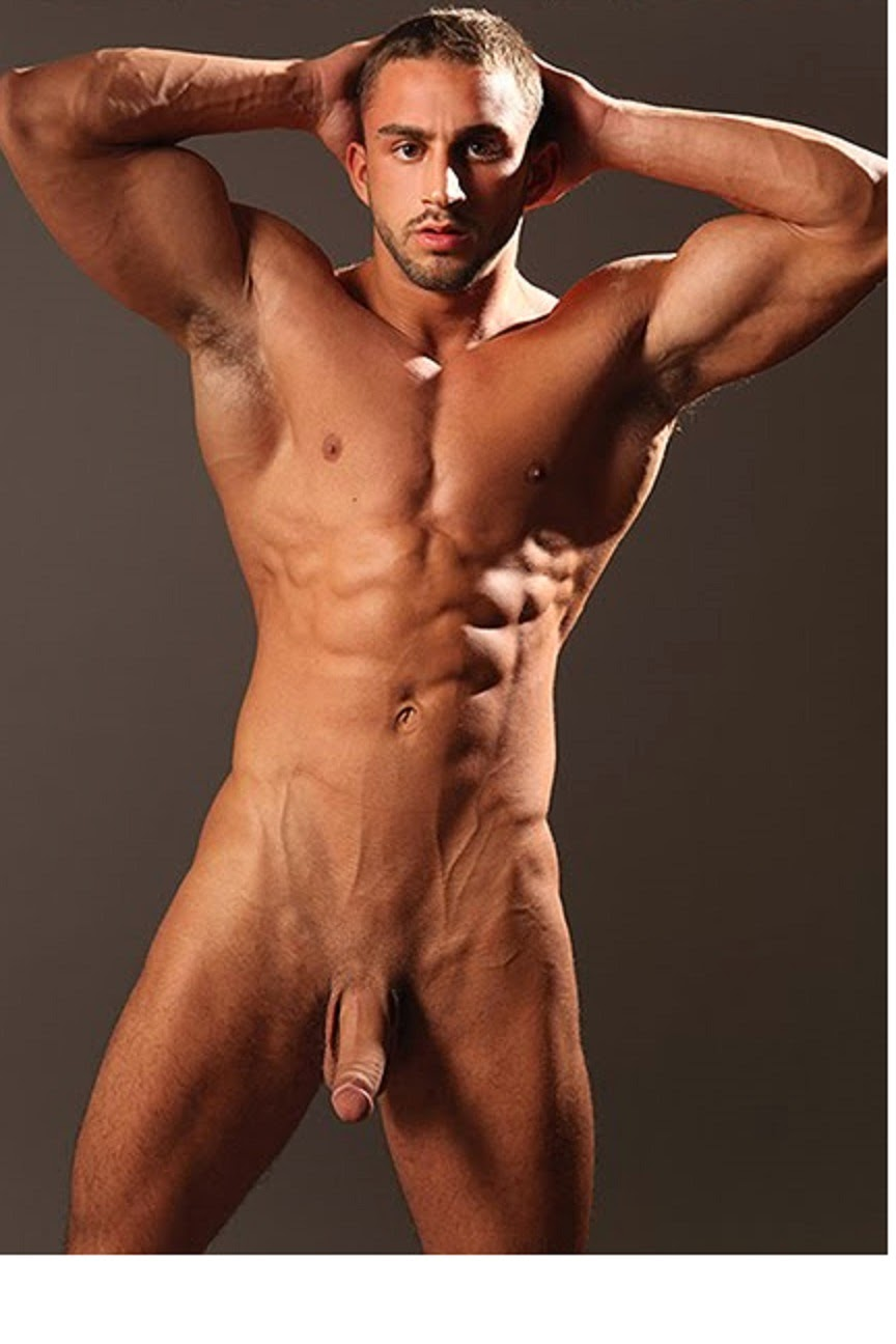 Sportsman Bulge Naked  Male Nude Bodybuilder-5860