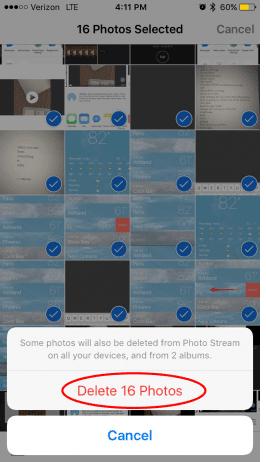 Cara Menghapus Banyak Foto Di iPad Dan iPhone