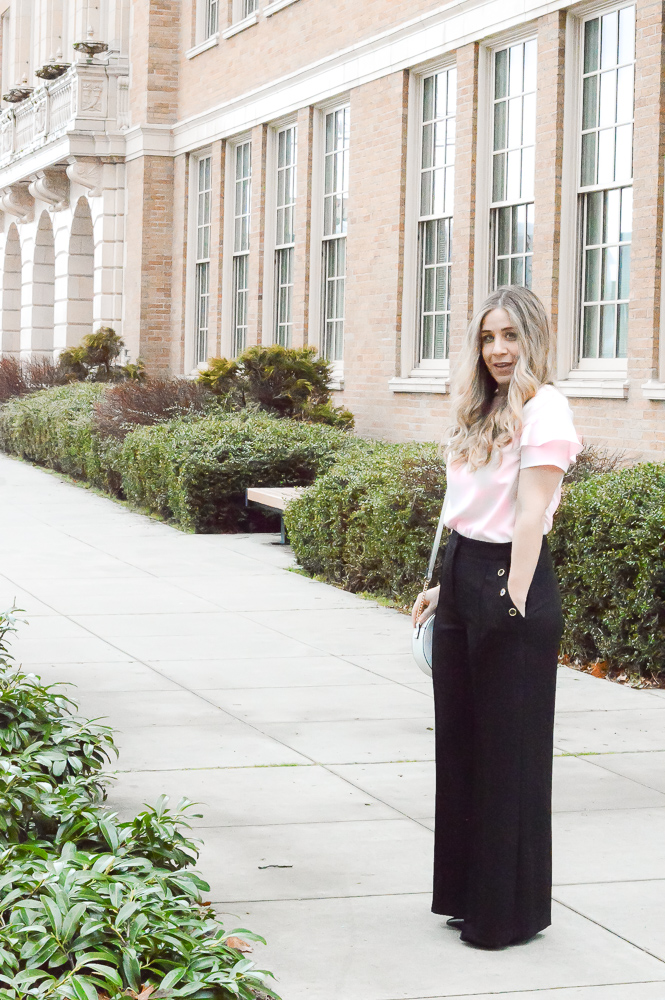 River Island Sailor Pants OOTD
