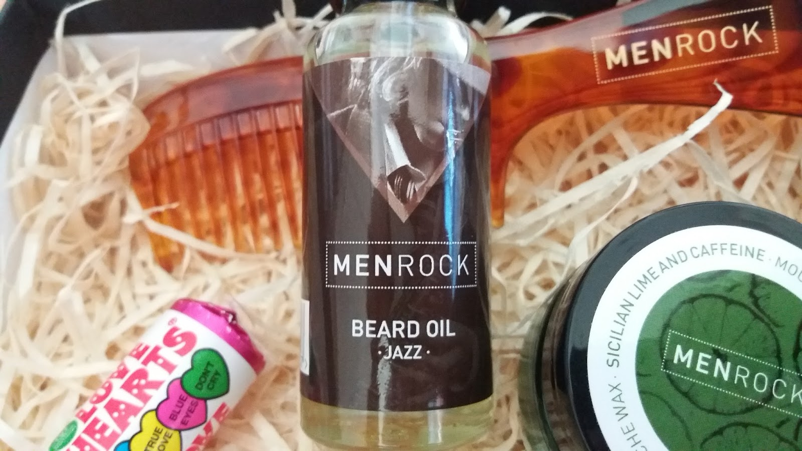 Menrock grooming products
