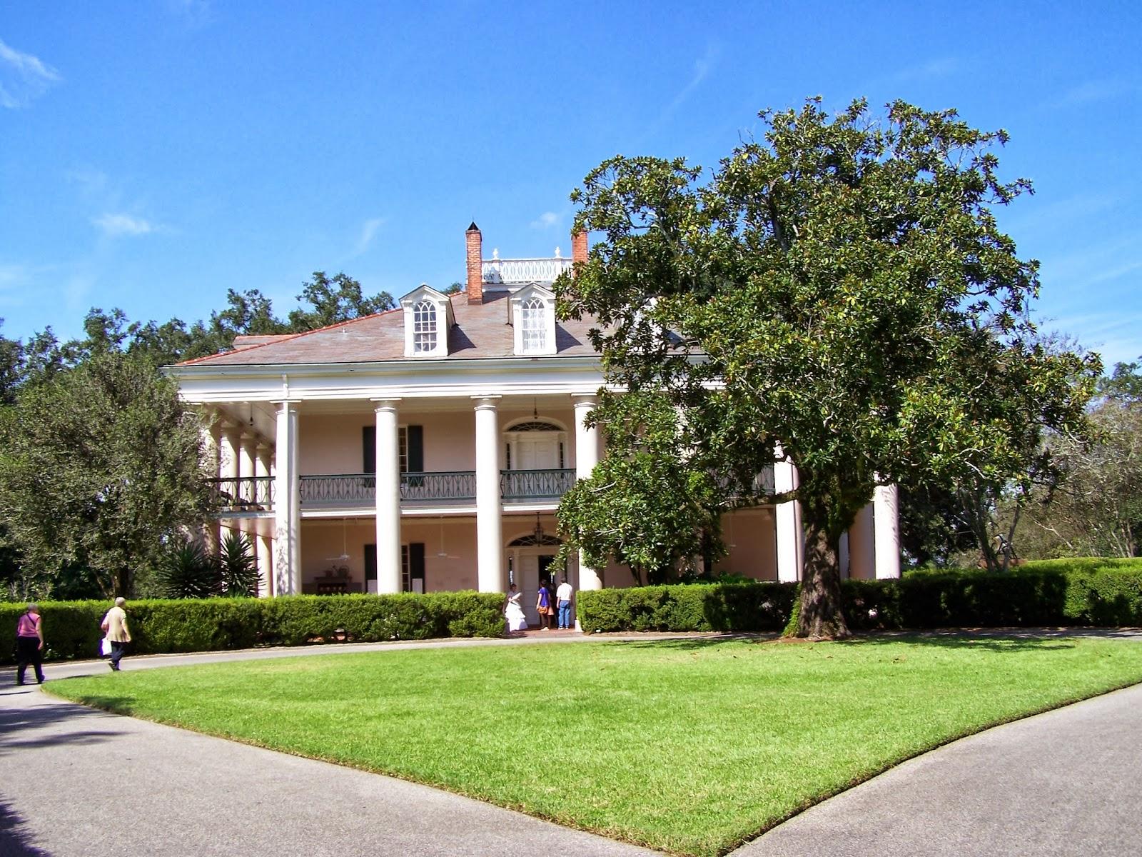 Cozy in Texas: Louisiana Plantations - Oak Alley