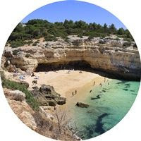 Praia-Albandeira-Algarve