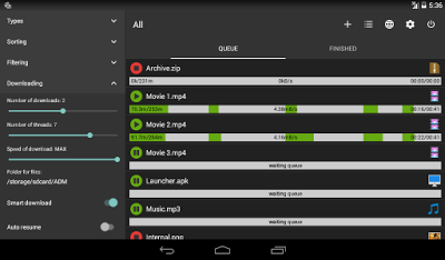 Increase Your Download Speed By 5x On Your Android With ADM