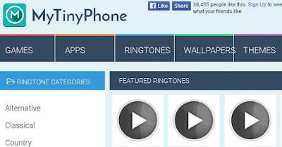 LIST of The Best Websites: Best Free Ringtone Websites