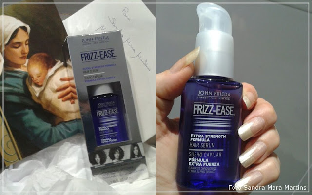 Ganhadora do Serum capilar Frizz-Ease Extra Força - John Frieda
