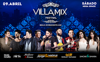Programação completa shows Villa Mix Festival 2016
