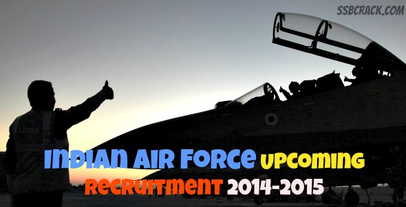 Indian Air Force Upcoming Recruitment 2016