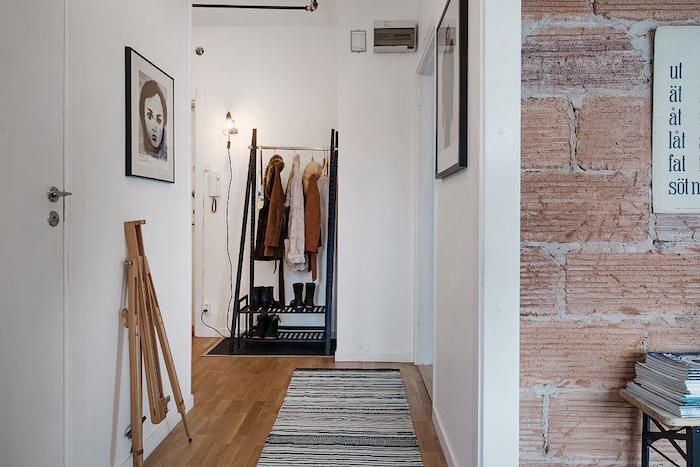 ideas para decorar un piso de alquiler- hall