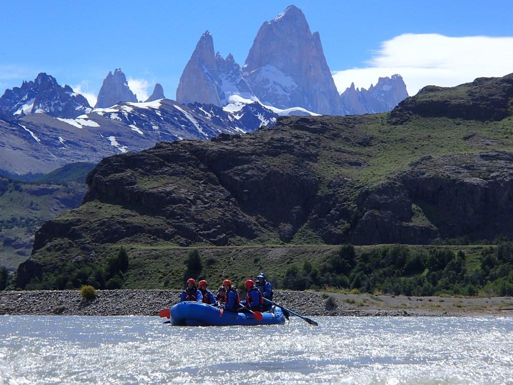 Rafting em El Chaltén, Monte Fitz Roy