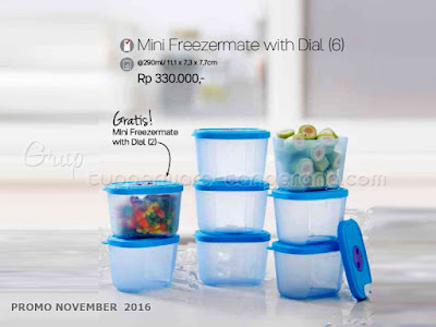 Mini Freezermate with Dial Promo Tupperware November 2016